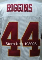 Free shippingFree,American Football Jersey #44 John Riggins Throwback Jersey,Embroidery logos,Size 48-56,mix order