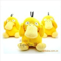 Wholesale high quality Pokemon plush toys soft Psyduck JAKKS real estate products 10pcs/lot