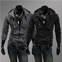 Free Shipping New Korean leisure self-cultivation Mens sweater man coat Sweatshirt high quality M-XXL
