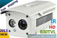 Free shipping CCTV 800 TVL Sony CCD High line Array IR LED Security camera 3mm -12mm cctv camera Optional Surveillance Camera