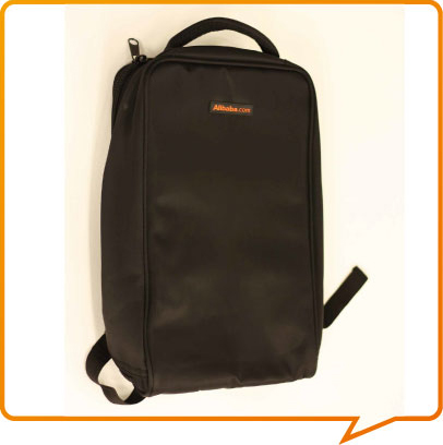 2013 Brand Travel bag Computer Alicool products mdash . logo double-shoulder computer backpack 53 bags(China (Mainland))