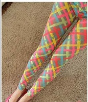 Free Shipping 2013 New Arrival High Quality Summer Korean Chic Colorful Plus Size Leggings