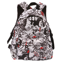 Fashion print backpack women's fashionable casual backpack bag travel bag