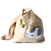 School bag cat one shoulder casual backpack
