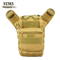 HOT!! 51783 outdoor bag Camouflage one shoulder cross-body waist pack multifunctional bag tactical bag