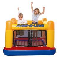 Intex48260 jumping music trampoline ocean ball pool inflatable toys ball pool