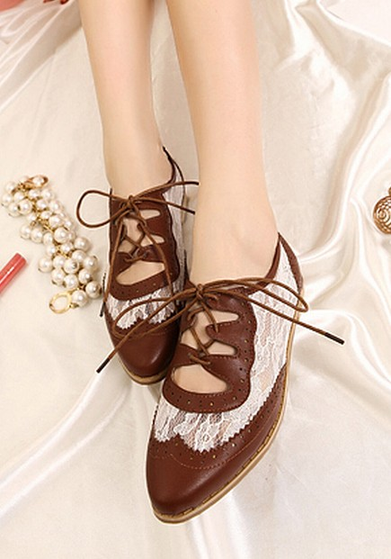 Pig elegant fashion bandage shoes magazine comfortable lace lacing carved cutout low-top shoes female(China (Mainland))