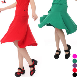 Summer modal Latin skirt dance expansion skirt skirts dance dress Latin skirt(China (Mainland))