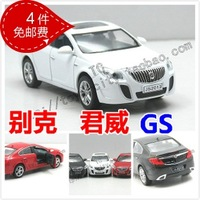 wholesale Buick regal BUICK acoustooptical gs alloy car model family car WARRIOR toy car  free shipping