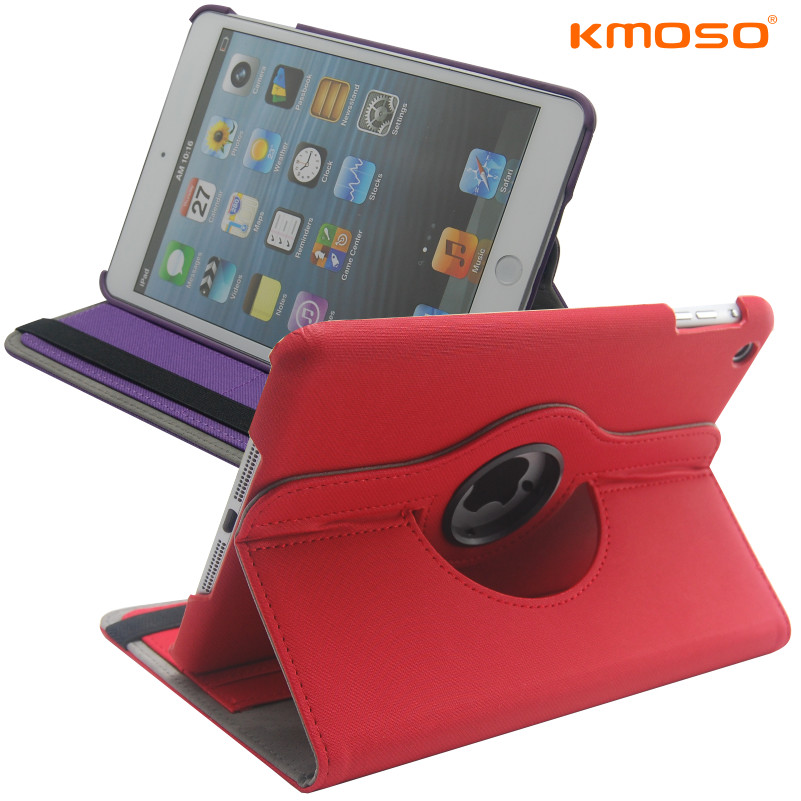 leather case for apple ipad mini protective case mount holsteins thin color block(China (Mainland))