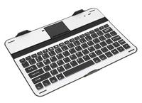 Free shipping G8000 Aluminium Bluetooth Keyboard Case Wireless For Tablet Samsung Galaxy N8000 New