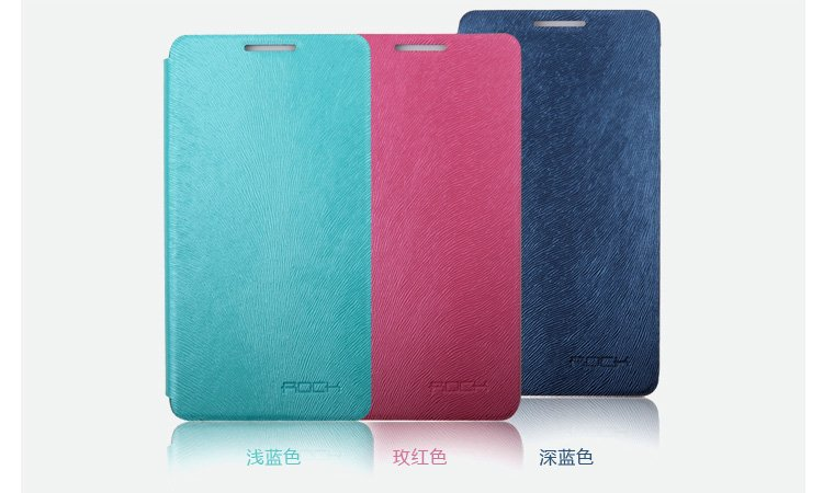 Free shiping Rock big city texture series side flip leather case for Huawei Honor+ Ascend G600 U8950D Honor2 U9508(China (Mainland))