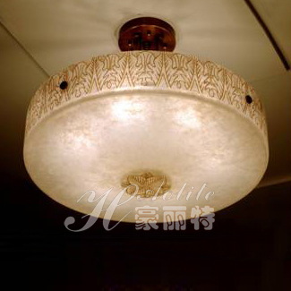 Parent spanish marble lamp natural copper pendant light fashion bedroom lamps(China (Mainland))