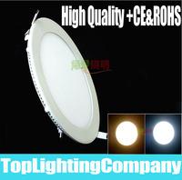 Indoor 3W/5W/6W/9W/12W/15W/25W LED Panel Lighting Ceiling Light AC85-265V Warm /Cool White
