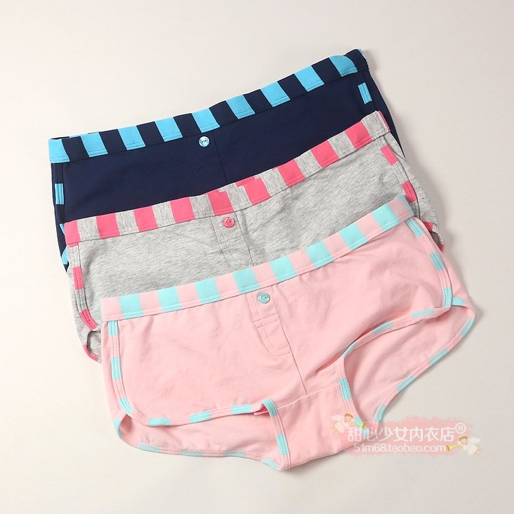 6ixty8ight women's comfortable 100% cotton print at home sports type panties pt127(China (Mainland))