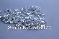 1000pcs 10mm clear  Wedding Table Confetti Diamonds Scatter Crystals Decorations Free Shipping