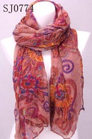 Min.order is $10 (mix order)Appealing Lady a overlong Charming shawl Stole &scarf wrap For Seasons SJ0774 Free Shipping