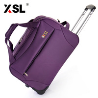 Xsl high quality large capacity travel bag trolley bag trolley commercial luggage