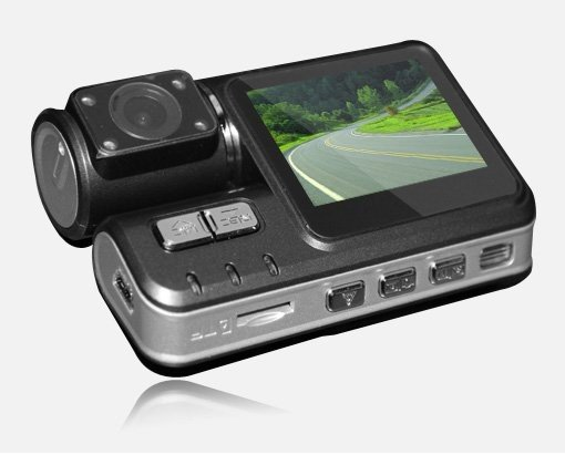HK Post Free Shipping Wholesales I1000 Car DVR Camera HD 1280*720P G-Sensor H.264 Extra AV-in Camera Wide Angle 120 Degree(China (Mainland))