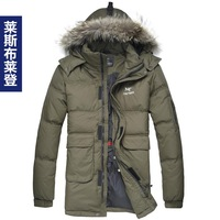 STOCK!!Big discount!2013 men's jackets and coats,men's hooded down coats, medium-long  down jackets for men