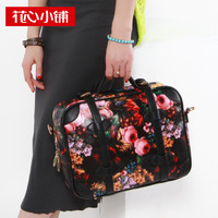 2013 vintage oil painting small bags portable women's handbag one shoulder bag bags  10295