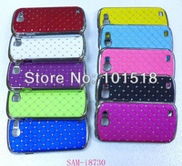 50pcs/lot Free shipping New Luxury Bling Diamond Crystal Star Hard Case Cover for Samsung Galaxy Express I8730