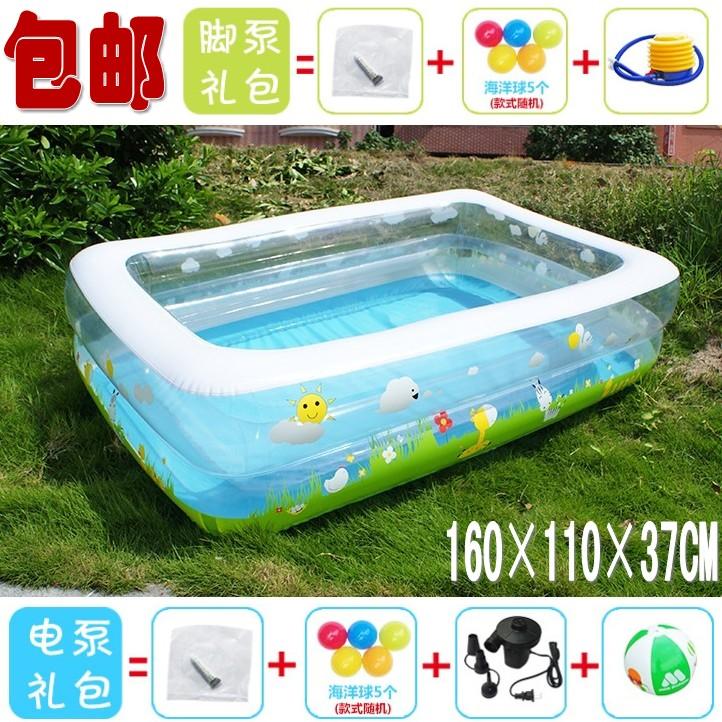 Água criança piscina adulto piscina de banho inflável resistente ao desgaste saco de pvc transparente(China (Mainland))