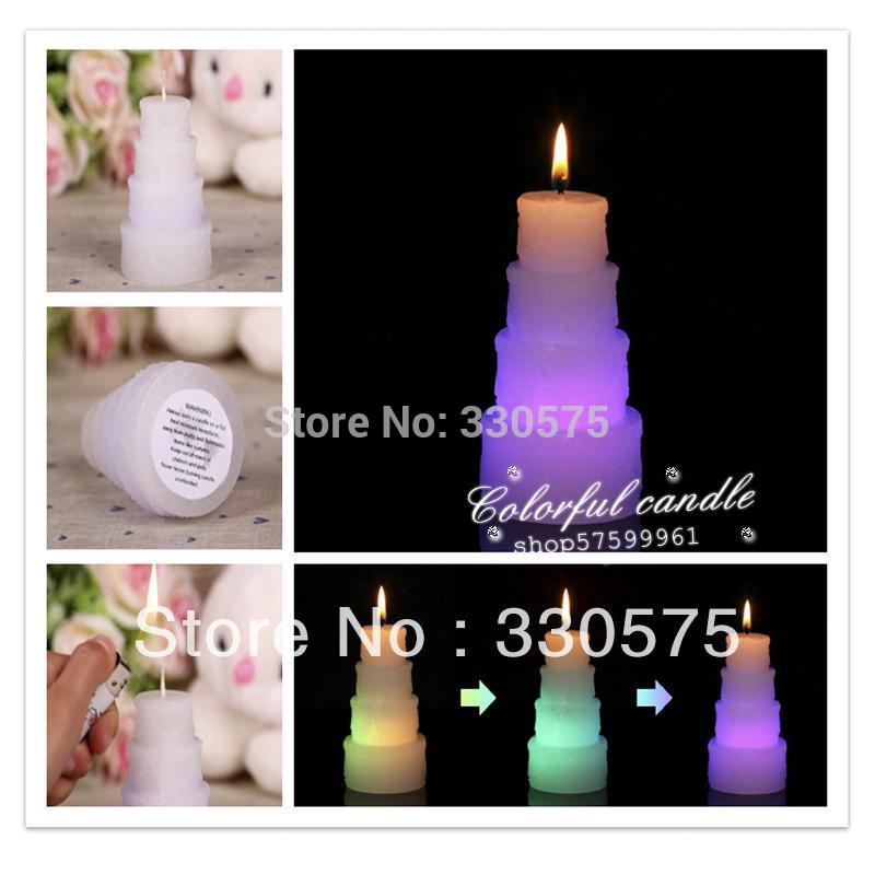 Wonderful led wax cake shaped candles LED wax magic candle for decoration of Birthdays, Weddings, Parties, Religious Activities(China (Mainland))