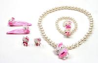 Free Shipping,hello kitty jewelry cheap,hello kitty wholesale,hello kitty Mascot costume with free jewelry gift-50set/lot