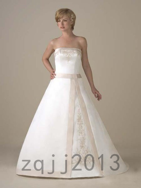 Fashion Wedding Dresses Bridal Gown Bridesmaid Dress Custom Size QJ-6831(China (Mainland))