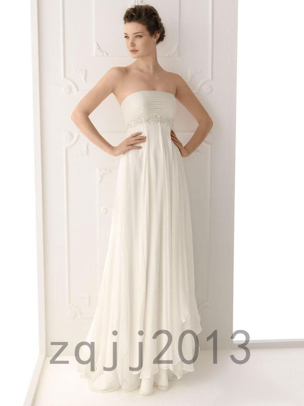 Fashion Wedding Dresses Bridal Gown Bridesmaid Dress Custom Size QJ-6838(China (Mainland))