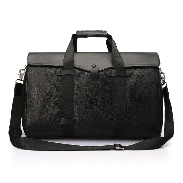 Cowhide man bag travel bag male handbag one shoulder large capacity genuine leather commercial luggage(China (Mainland))