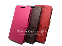 Free Shipping (1pcs)Top Quality Series leather case for Huawei G510/T8951/U8951D case cover Classic design
