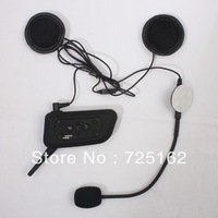 Latest  A Pair 1km remote Talk Range 6 Riders Multi-function Motorcycle Helmet Intercom Headset Interphone Bluetooth