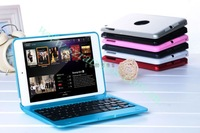 40pcs/lot Aluminum Hard Case and 3.0 Bluetooth Keyboard for Apple iPad Mini Protective Shell free shipping
