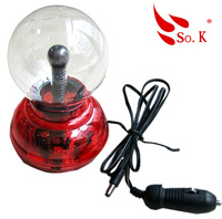 Car decoration lamp table instrument atmosphere light plasma ball magic ball lightning ball magic ball induction lamp