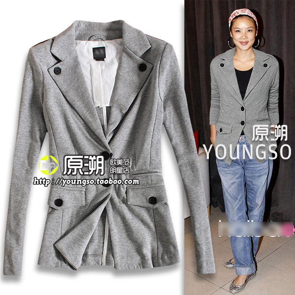 Casual Cotton Blazer For Women - More information