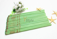 Free Shipping Scented Ear Candle Fresh Tea Green Color Ear Candles Therapy Tool 150PCS 100% Pure Herbal Beeswax Material