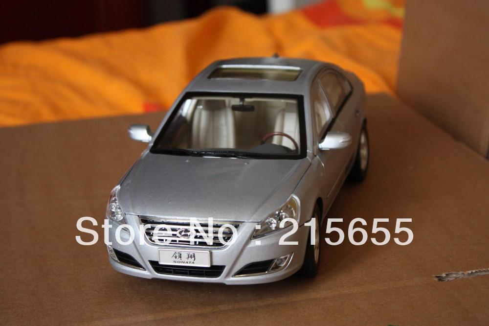 DIE CAST MODEL,1:18 China HYUNDAI SONATA 2009,7th,NFC,SILVER(China (Mainland))