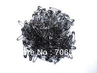 Free Shipping Customized Garment Accessories 19mm Iron Safety Pins Black Metal Pins For Hangtags