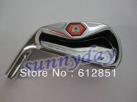1 Set Left Handed R golf iron set (4-9,P,A,S  9pcs full set) with R/S Steel shaft and free headcover freeshipping