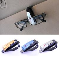 Car multifunctional car glasses clip glasses business card purse