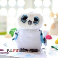 TY big  Crystal Eye  Lovely Owl doll plush  toy  children toy baby toy best gift  MR6021
