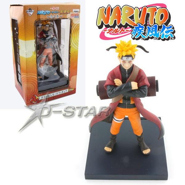 Free Shipping 6 inch Uzumaki Naruto Immortal Model PVC Action Figure Collection Model Toy(China (Mainland))