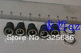 5.5 * 2.1DC socket power voltage transformer socket outlet cigarette lighter socket solar mobile power Free shipping 50PCS/LOT(China (Mainland))