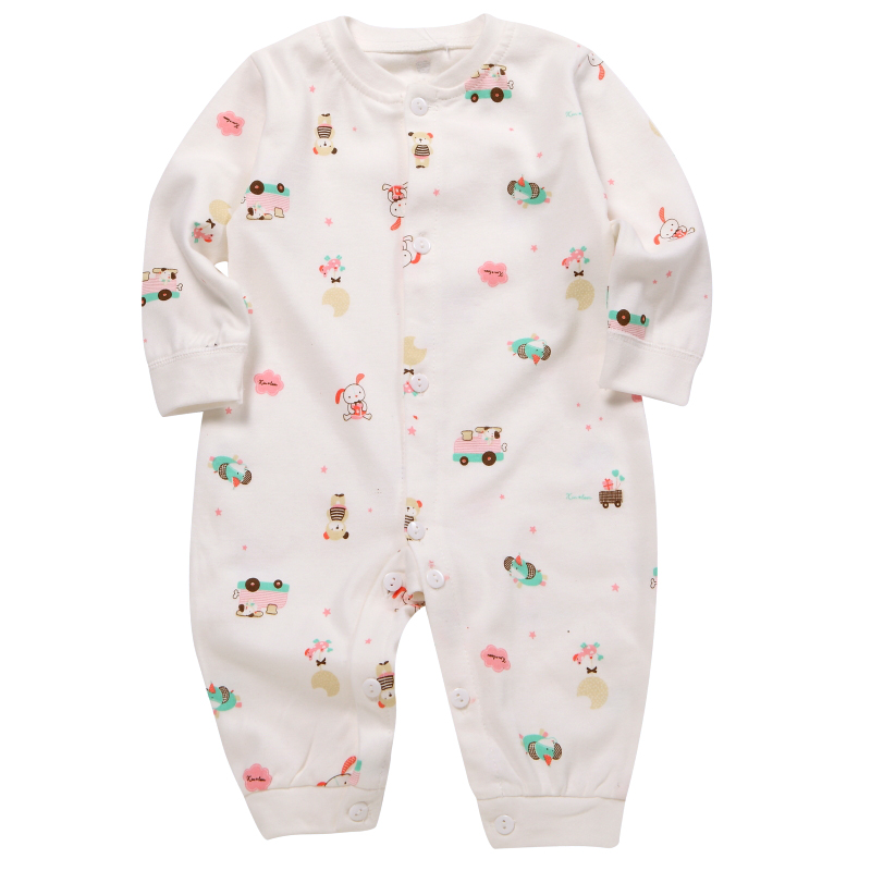 2013 Sunlun Spring baby long-sleeve cotton basic underwear baby romper jumpsuit bodysuit children's clothing(China (Mainland))