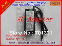 15 pcs  a lot free shipping 12V3A  AC adapter DM800SE DM800HD DM500 ,power supply of dream box