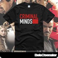 2014 / Criminal Minds Short-sleeve T-shirts male Women plus size loose summer spring basic shirt sw-1