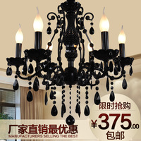 Black crystal lamps fashion crystal  dining room  lighting  modern crystal chandelier