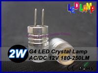 Highlights Epistal G4 2W DC12V Crystal lamp  180-250LM Led bulb light lamp high power lamp 20 pcs Fast arrive